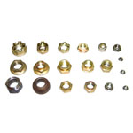 Rails Accessories  - Galvanized Plain Nuts