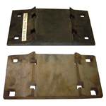 Rails Accessories - Railway Tie Plates
